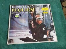 Berlioz Requiem . Grande Messe Des Morts. Charles Munch. (2 LPs) w Booklet.
