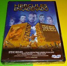 HERCULES ENCADENADO ( HERCULES Y LA REINA DE LIDIA )  Steve Reeves Precintada
