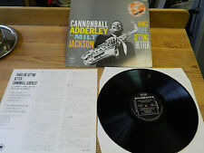 LP Cannonball Adderley with Milt Jackson – things are getting better smj-6122