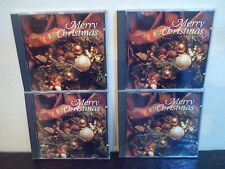 Lot de 4 CD - MERRY CHRISTMAS - 3 photos - EX/NM - BELGIUM - Titres sur photos