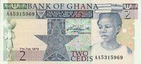 Vintage Ghana Banknote Choice UNC 1979 2 Cedis Pick 18a US Seller