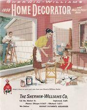 SHERWIN-WILLIAMS 1958 HOME DECORATOR BROCHURE