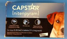 Capstar 2-25 Lb Dog Flea Treatment - 6 Count, New Version Free Ship