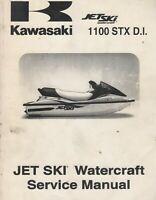 2000, 2001 KAWASAKI JET SKI  1100 STX D.I. SERVICE MANUAL 99924-1256-02 (653)
