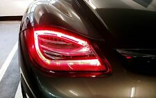2009-2012 Porsche Cayman Boxster 987 LED Taillights 981 Style Clear Color DEPO