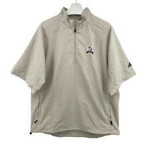 Adidas Golf Legends Golf Course Myrtle Beach, SC pullover 1/4 zip Windbreaker