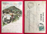Litho AK GÖRLITZ 1901 Landskrone mit Glitzersteinen seltene Version   ( 12150