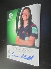 52433 Susann Kunkel DFB Schiedsrichter original signierte Autogrammkarte