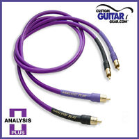 Analysis Plus Oval One Interconnect Cables, Length 1.0 Meters, RCA-RCA