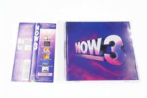 NOW 3 TOCP-8750 JAPAN OBI CD A10219