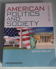 American Politics and Society by David McKay (Paperback, 2013)