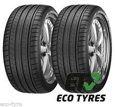 2X Tyres 235 50 R18 97V Dunlop SportMaxx GT MO RFT ROF RUN FLAT C B 69dB