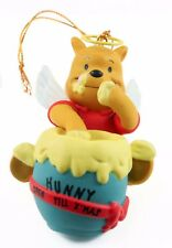 Plastic Winnie the Pooh Angel Christmas Ornament Holiday Decoration