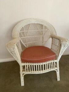 Vintage Retro Wicker / Rattan Armchair - excellent Condition