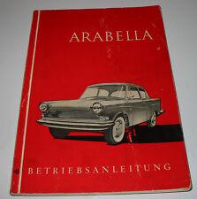 Betriebsanleitung Arabella LLoyd Bedienung Pflege Wartung Stand Juli 1960!