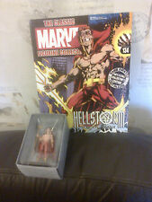 CLASSIC MARVEL FIGURINE COLLECTION 134 HELLSTORM SON OF SATAN FIGURE BOXED MAG