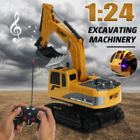 Remote Control Excavator RC Construction Tractor Vehicle Truck Digger RC Car  K