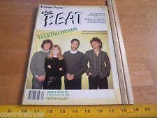 The Beat 1982 magazine Talking Heads U2 Led Zeppelin XTC Pete Shelley Ultravox
