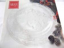"Mikasa Christmas Village Hostess Platter 15"" Decorative Holiday Collectible"