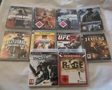 10 x Playstation 3 Spiele Sammlung ps3
