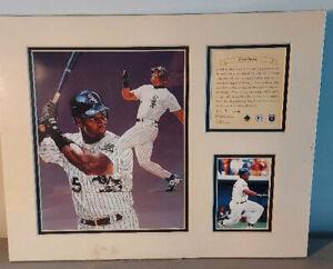 1995 KRSI Frank Thomas 11x14 Limited Edition Matted Art Print Litho  #/12,500