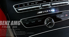 3D Auto Car Chrome Emblem AMG Badge Sticker Interior Exterior for Mercedes-Benz