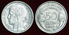 FRANCE 50 centimes 1947 high grade