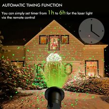 OxyLED Outdoor RG Landscape Projector Light with Remote Controller for Holiday