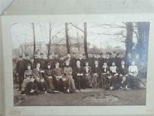 Antique Photograph Stonehouse London Lunatic Asylum Staff Dartford Kent Hibling