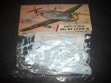 AIRFIX MESSERSCHMITT BF 109G-6  PLASTIC MODEL 1/72 VINTAGE