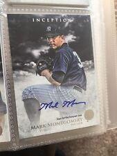 2013 Bowman Inception Prospect Autographs PA-MM Mark Montgomery Auto Rookie Card