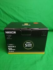 Nikon Nikkor Z - 50 mm f/1.8 S Objektiv für Nikon Z-Mount Schwarz Neu!