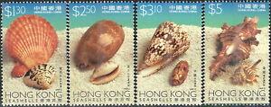 Hong Kong - Muscheln und Schnecken Satz postfrisch 1997 Mi. 830-833