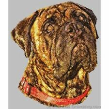 Embroidered Short-Sleeved T-shirt - Bullmastiff Dle1498 Sizes S - Xxl