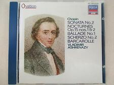 Chopin : Sonata No.2 - Nocturnes op.15 nos.1&2 - Ballade No.1.. - Ashkenazy - CD
