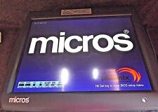 Micros WS5a Touch Screen 400814-101 POS Stand E7 3700 Workstation 5A ..inv#LD47c