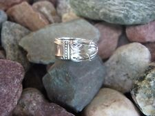 1938 Antique Spoon Ring R271 Size 10.25 Western Skies Silver