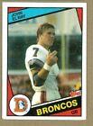 1984 Topps Football Card John Elway #63 Rookie Card Denver Broncos EX
