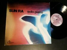 Sun Ra – Solo Piano -LP 1977 Free Jazz Vol 1 Improvising Artists IAI 37.38.50