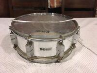 Vintage Remo Quadura Snare Drum, 8 Lugs, Acousticon Shell DC1000 Fair Condition