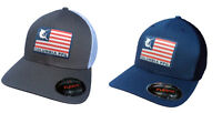 Columbia Unisex Flag Flexfit Mesh Ballcap Cap Hat VARIETY COLORS