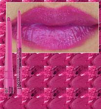 Nyx Lápiz Delineador Labios hasta Twist ~ rosa caliente ~ ~ Púrpura Profundo Magenta Rosado Impermeable