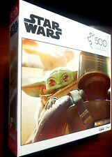 "Disney Star Wars ~ (The Mandalorian) ""Baby Yoda"" 500 Piece Puzzle. New & Sealed"