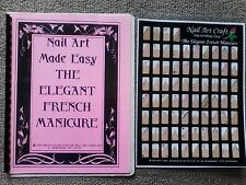 Nail Art Made Easy: The Elegance French Manicure Book & Laminated Practice Sheet