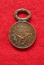 MÉDAILLE MARCHE D L'ARMÉE-JOURNAL LE MATIN-29 MAI 1904-GRAVEUR THEUNISSEN-CUIVRE