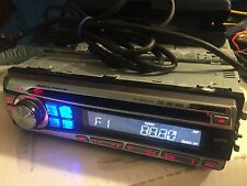 ALPINE CDE-9873RB CD MP3 AUTORADIO 45Wx4 MP3 CD WECHSLERSTEUERUNG IPOD KABEL AUX