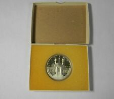 1984 Olympiad XXIII Olympic Challenge Coin SILVER 1 Toz Los Angeles One Dollar