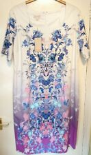 Monsoon Alllegra Multi Floral Party Dress Size 22 Bnwt Allegra Ivory Multi