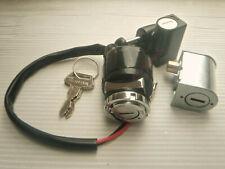 Honda CB SL CL XL 100 CB125S SL125 Steer Helmet Lock Ignition Switch Key Set Kit