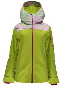 Spyder Women's Syncere Jacket, Ski Snowboarding Jacket Size 6, New With Tags